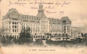 AK / Ansichtskarte Nice_Alpes_Maritimes Hotel du Parc Imperial Nice_Alpes_Maritimes