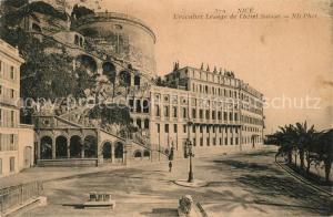 AK / Ansichtskarte Nice_Alpes_Maritimes L escalier Lesage de l Hotel Suisse Nice_Alpes_Maritimes