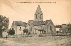 AK / Ansichtskarte Savigny sous Malain Eglise Savigny sous Malain