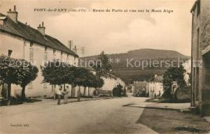 AK / Ansichtskarte Pont de Pany Route de Paris vue sur le Mont Aigu Pont de Pany