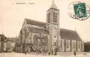 AK / Ansichtskarte Essonnes Eglise Essonnes