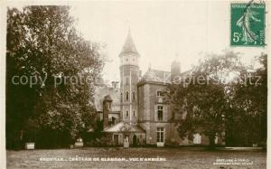 AK / Ansichtskarte Neuville sur Sarthe Chateau de Blandan Vue d Arriere Neuville sur Sarthe