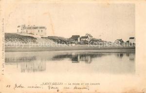 AK / Ansichtskarte Saint Gilles Croix de Vie_Vendee Plage les Chalets Saint Gilles Croix de Vie