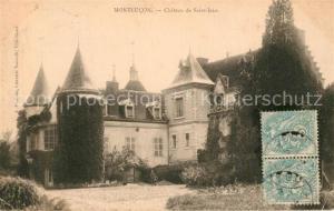AK / Ansichtskarte Montlucon Chateau de Saint Jean Montlucon