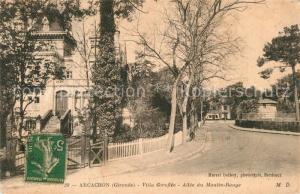 AK / Ansichtskarte Arcachon_Gironde Villa Giroflee Allee du Moulin Rouge Arcachon Gironde