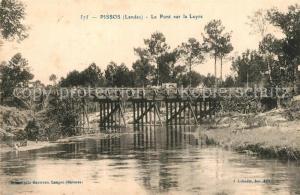 AK / Ansichtskarte Pissos Pont sur la Leyre Pissos