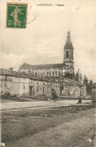 AK / Ansichtskarte Laheycourt Eglise Laheycourt