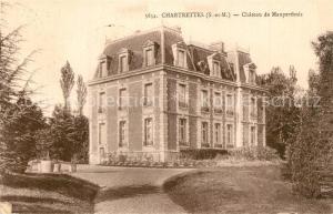 AK / Ansichtskarte Chartrettes Chateau de Mauperthuis Chartrettes
