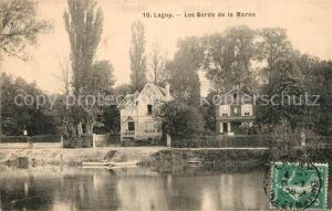 AK / Ansichtskarte Lagny sur Marne Les Bords de la Marne Lagny sur Marne