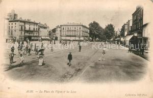 AK / Ansichtskarte Albi_Tarn La Place du Vigan les Lices Albi_Tarn