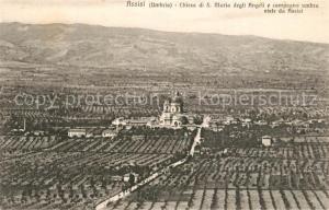 AK / Ansichtskarte Assisi_Umbria Chiesa di S Maria degli Angeli e compagna umbra viste du Assisi Assisi Umbria
