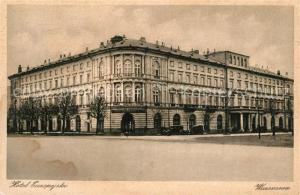 AK / Ansichtskarte Warszawa Hotel Europejski Warszawa