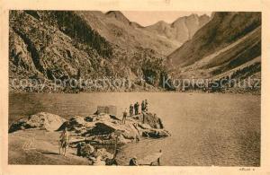 AK / Ansichtskarte Cauterets Le Lac de Gaube Cauterets