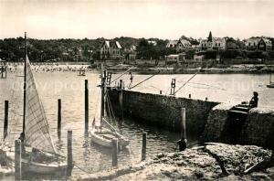 AK / Ansichtskarte Saint Palais sur Mer La Plage vue du Port Saint Palais sur Mer