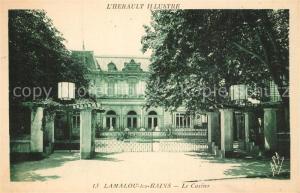 AK / Ansichtskarte Lamalou les Bains Le Casino Lamalou les Bains