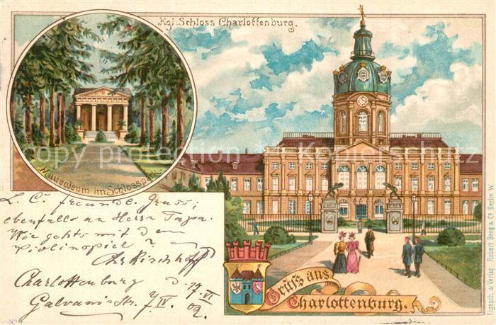 AK / Ansichtskarte Charlottenburg Schloss Mausoleum im Park  Charlottenburg 0