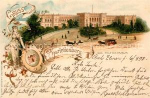AK / Ansichtskarte Charlottenburg Polytechnikum Charlottenburg