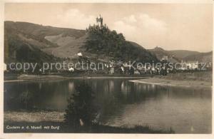 AK / Ansichtskarte Cochem_Mosel mit Burg Cochem Mosel