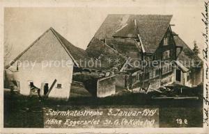 AK / Ansichtskarte Eggersriet Sturmkatastrophe 5. Januar Eggersriet