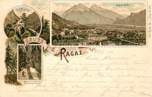 AK / Ansichtskarte Ragaz_Bad Bad Pfaeffers Taminaschlucht Ragazbaeder Ragaz_Bad