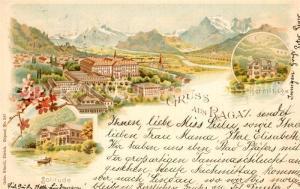 AK / Ansichtskarte Ragaz_Bad Hermitage Solitude  Ragaz_Bad