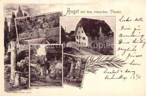 AK / Ansichtskarte Augst Roemisches Theater  Augst