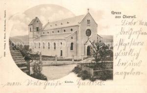 AK / Ansichtskarte Oberwil_BL Kirche Oberwil_BL