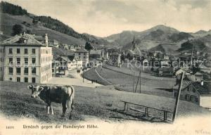 AK / Ansichtskarte Urnaesch_AR Hundwyler Hoehe Panorama Urnaesch_AR