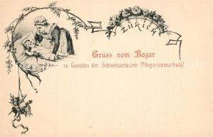 AK / Ansichtskarte Zuerich_ZH Bazar zu Gunsten Schweizerische Pflegerinnenschule Zuerich_ZH
