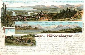 AK / Ansichtskarte Walzenhausen_AR Panorama  Walzenhausen AR