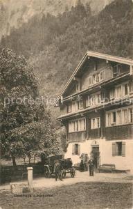 AK / Ansichtskarte Muotathal Gasthaus zum Hirschen Muotathal
