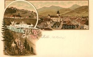 AK / Ansichtskarte Bulle_FR Panorama Wandergruppe Bulle_FR