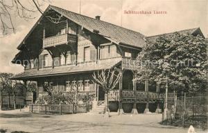 AK / Ansichtskarte Luzern_LU Schuetzenhaus Luzern_LU