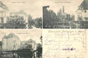 AK / Ansichtskarte Bottmingen Schlossansichten Bottmingen