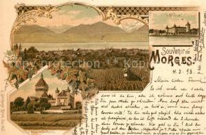 AK / Ansichtskarte Morges Arsenal Chateau Morges