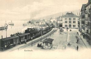 AK / Ansichtskarte Rorschach_Bodensee Bahnhof Rorschach Bodensee