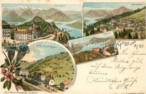 AK / Ansichtskarte Rigi_Kloesterli Rigi Kulm Rigi Kaltbad Kaenzeli  Rigi_Kloesterli