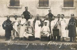 AK / Ansichtskarte Hammelburg_Lager Erinnerung Feldzug 1914 Hammelburg_Lager