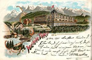 AK / Ansichtskarte Tarasp Grand Hotel Waldhaus Tarasp
