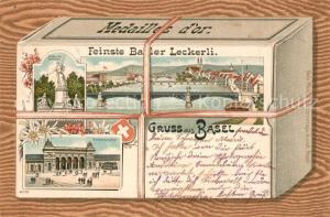 AK / Ansichtskarte Basel_BS Feinste Basler Leckerli Basel_BS