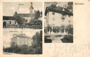 AK / Ansichtskarte Buttisholz Kirche Villa Maier Buttisholz