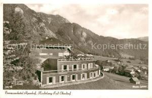 AK / Ansichtskarte Bad_Oberdorf Terrassenhotel Alpenhof Bad_Oberdorf