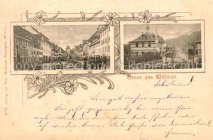 AK / Ansichtskarte Willisau Stadtansichten Willisau