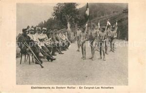 AK / Ansichtskarte Leysin Etablissements du Doctenr Rollier Leysin