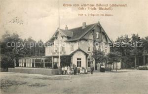 AK / Ansichtskarte Luebberstedt_Lueneburger_Heide Waldhaus Bahnhof  Luebberstedt_Lueneburger