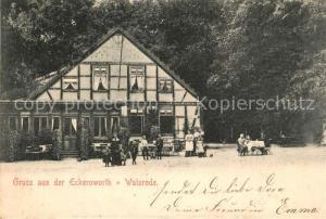 AK / Ansichtskarte Walsrode_Lueneburger_Heide Eckernworth Walsrode_Lueneburger_Heide