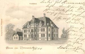 AK / Ansichtskarte Wittmund Kreishaus Wittmund
