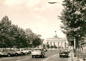 AK / Ansichtskarte Berlin Hauptstadt der DDR Brandenburger Tor Berlin