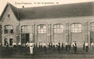 AK / Ansichtskarte Passy Froyennes La cour de gymnastique Passy Froyennes