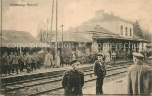 AK / Ansichtskarte Montmedy Bahnhof Montmedy